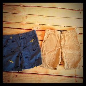 NWT Bundle Boys Size 6 7 Shorts Carter's